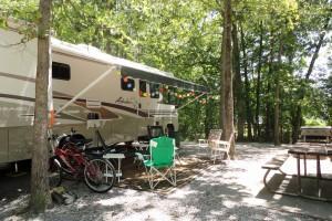 Harrison Bay campsite