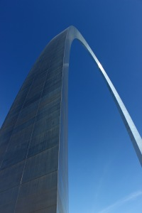 Gateway Arch in the morning