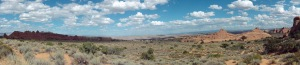 Arches National Park panorama