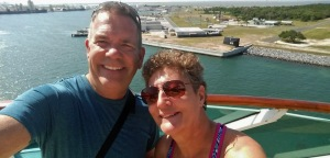 Bahamas Cruise 2016 leaving port