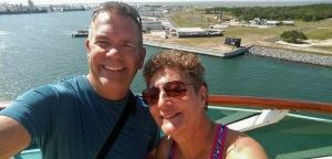 Bahamas Cruise 2016 leaving port