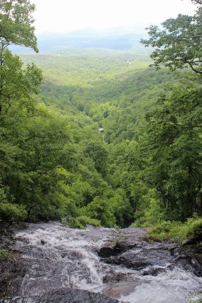 View from Amicalola Falls
