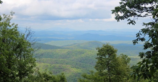 View from Hike Inn