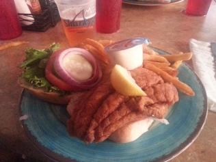 Best Grouper Sandwich!