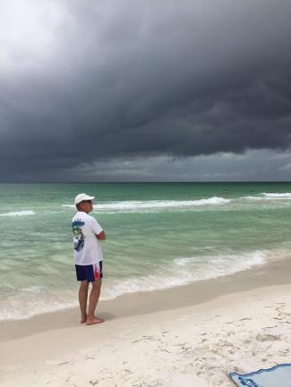 Tut, tut looks like rain!