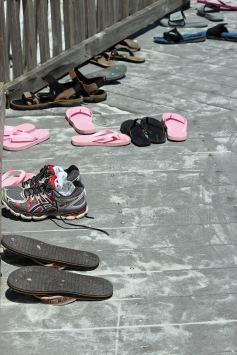 Flip flop boardwalk