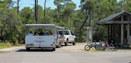 Tram to the beach