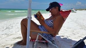 Jackie reading