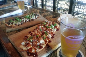 Flatbreads at World of Beer