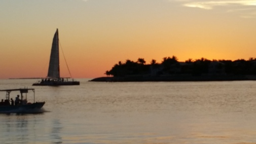 Sunset at Key West