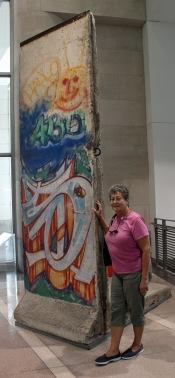 Fragment of Berlin Wall