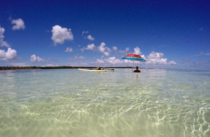 Sandbar off Curry Hammock
