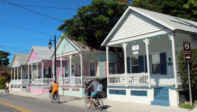 Shotgun houses, Key West
