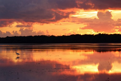 Sunset at Curry Hammock SP