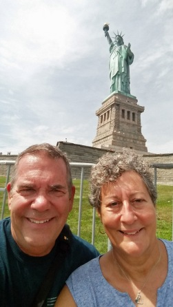 Statue of Liberty selfie