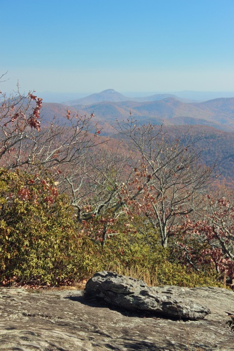 View southeast from Blood Mountain
