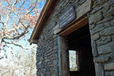 Shelter at Blood Mountain summit, AT