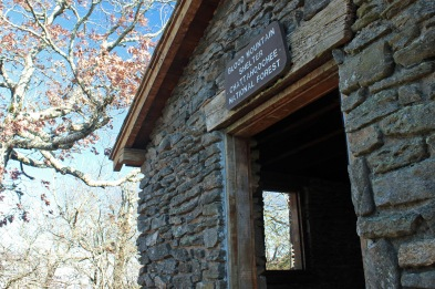 Shelter at Blood Mountain summit, AT