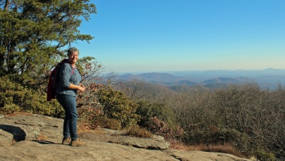 Looking southeast from Blood Mountain
