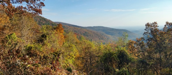 Looking east from Blood Mountain