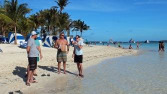 Beach meeting