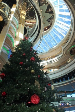 Christmas onboard Enchantment of the Seas