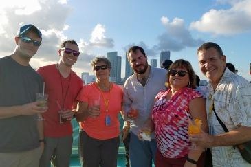 In port, Miami.