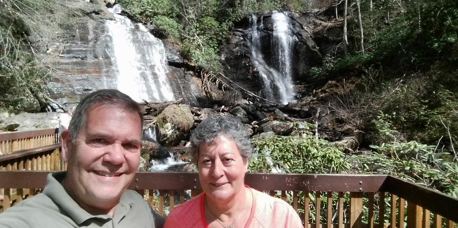 Both at the falls