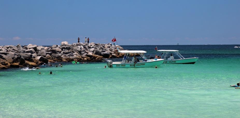 Jetty snorkeling spot