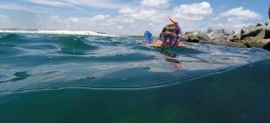 Snorkeling Jackie