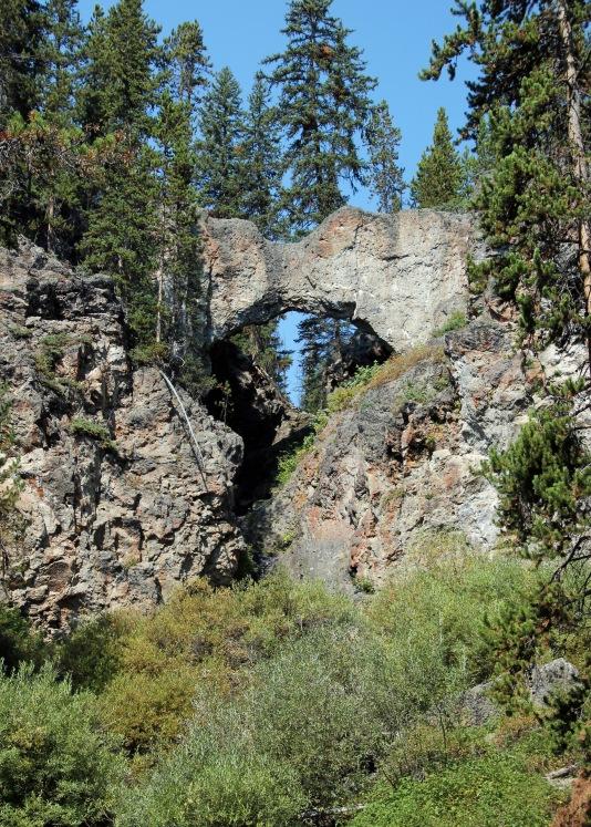Natural bridge