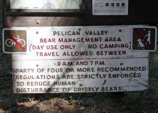 Pelican Valley sign