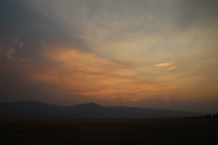 Sunset in Townsend
