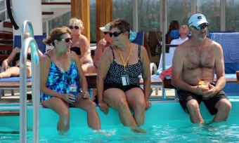 Pool Deck Day at Sea