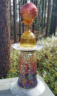 Glass totem