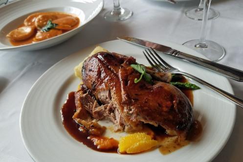 Roast duck