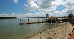 Low tide at the dock