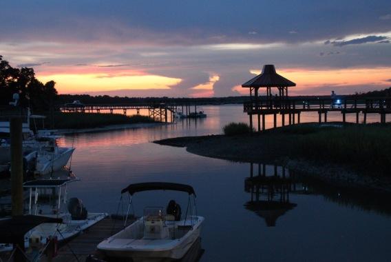 HHRV marina sunset