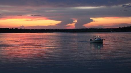 HHRV sunset boat 3