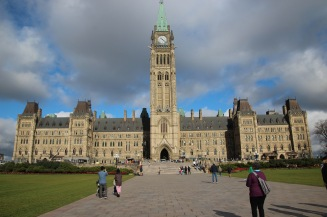 ~Parliament and Peace Tower