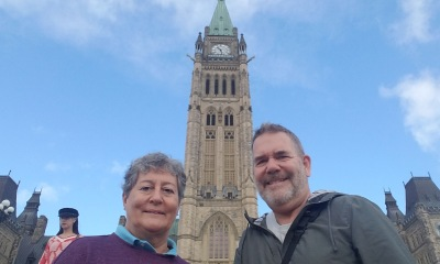 ~Peace Tower selfie
