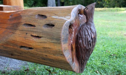 ~Pileated picnic table