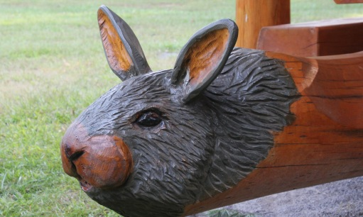 ~rabbit picnic table