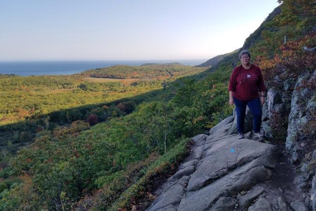 ~Precipice view