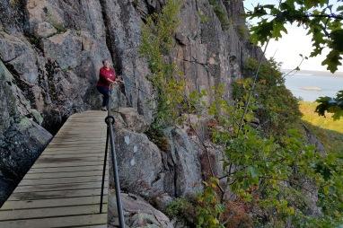 ~Precipice walkway