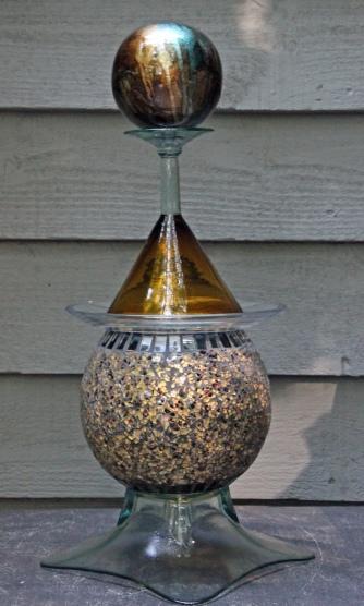 Speckled globe