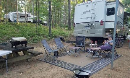 Smith Lake campsite 2