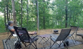 Smith Lake campsite 3