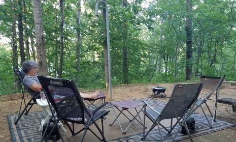 Smith Lake campsite 3