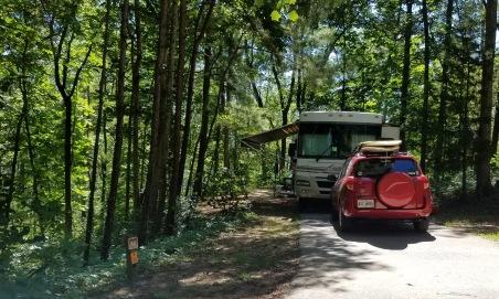 Smith Lake campsite 4